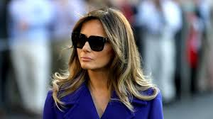 melania trump s office says she was confident husband would win