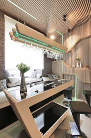 futuristic parametrix kitchen design for small space dweef com