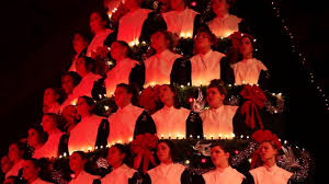 2014 mona shores singing christmas tree youtube