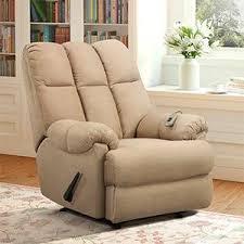 amazon com dorel living padded dual massage recliner tan