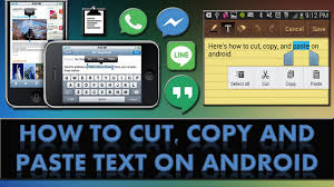 copy and paste android how to cut copy and paste text on an android phone