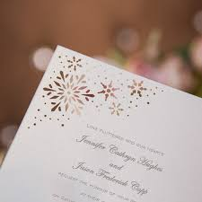 Cheap Wedding Invitations Online Snowflakes Laser Cut Wedding Invitations Efws026 As Low As 1 35