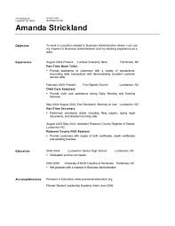 Customer Service Skills Resume Examples by Resume For Bank Teller Resume Example