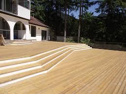 cedar decking radnor decoration