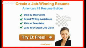 Live Career Resume Builder Livecareer Com Resume Builder Review Youtube