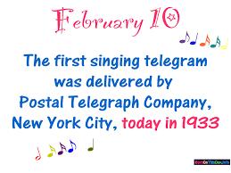singing telegram birthday bornonthisday info february 10 birthday wallpaper