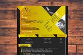 Free Resume Template Design Free Resume Template Free Design Resources