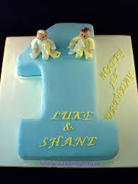 twin boys u0027 1st birthday cake ideas best birthday cakes