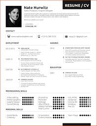 Resume Self Employed Sample Musician Resume Moa Format