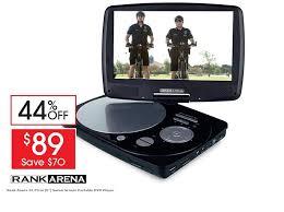 target black friday dvd player portable rank arena portable dvd player target electronics