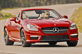 convertible mercedes red 2016 mercedes benz slk class convertible pricing for sale edmunds