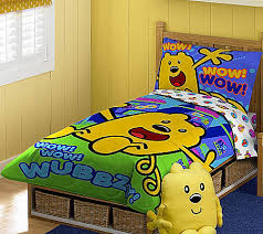 wow wow wubbzy toddler bed set qvc