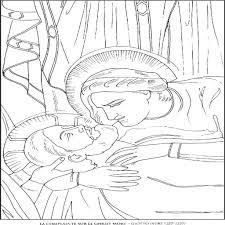 la complainte sur le christ giotto famous paintings coloring pages