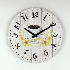 Decorative Wall Clock Online Get Cheap Mediterranean Clock Aliexpress Com Alibaba Group