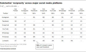 andr si ge social social media use 2018 demographics and statistics pew research center