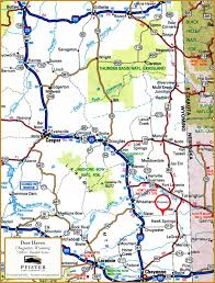 Wyoming Road Conditions Map Deer Haven Ranch Land For Sale Torrington Goshen County
