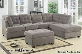 Charcoal Sectional Sofa Grey Fabric Sectional Sofa A Sofa Furniture Outlet Los