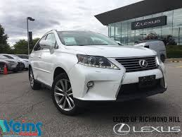 lexus nx hud used 2015 lexus rx 350 for sale richmond hill on
