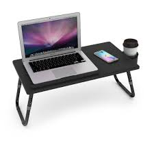 Laptop Lap Desk With Light by Laptop Lap Desk With Mouse Pad Stand Holder Tablet Phone Bed Table