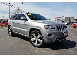 diesel jeep grand cherokee used 2015 jeep grand cherokee overland diesel 4x4 heated leather for
