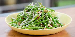 cuisine haricot vert haricots verts with almonds ricotta salata and orange honey