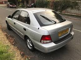 2001 hyundai accent auto 1474cc fsh 1p owner long mot leicester