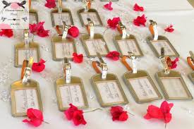 destination wedding favors luxury destination weddings in jamaica fuchsia bling wedding