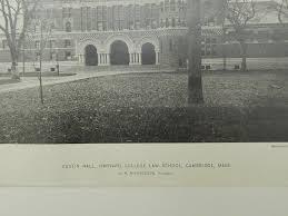 richardson architect austin hall harvard college law cambridge ma 1885