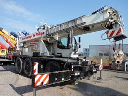 terex demag ac40 city used crane for sale