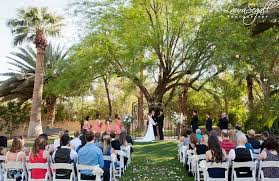 outdoor wedding venues az renee and vince s secret garden wedding arizona