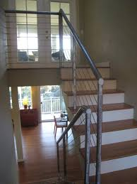 metal landing banister and railing photos hgtv modern loft stairs with metal railing loversiq
