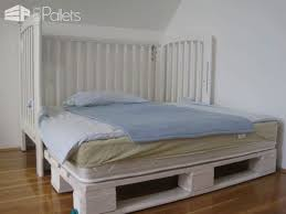 Headboard Made From Pallets Modular U201cking Size U201d Kids Pallet Bed Made With Upcycled Pallets