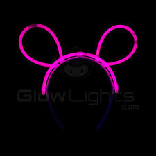 glow lights glow bunny ears pink as low as 0 72 glowlights