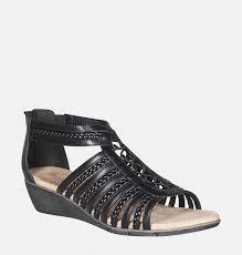 farrah braided gladiator wedge sandal plus size sandal avenue