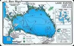 Central Florida Map Lake Eustis In Eustis City En La Florida Centro Florida