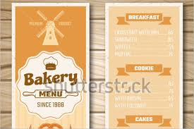 30 bakery menu templates free designs ideas samples creative