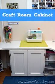 Craft Room Cabinets Craft Room Cabinet Sew Woodsy Sew Woodsy