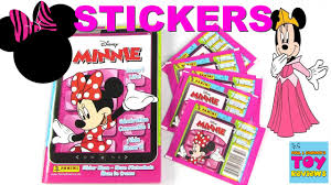 minnie mouse photo album disney minnie mouse panini sticker pack opening album collection