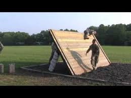 Obstacle Raw Video Military Personnel Negotiate Air Assault Obstacle