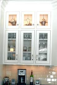 Kitchen Cabinet Doors With Glass Panels Decoration Glass Panel Kitchen Cabinet Doors
