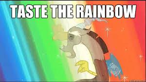 Taste The Rainbow Meme - taste the rainbow discord rainbow quickmeme