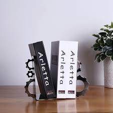 aliexpress com buy 2016 new design modern metal gear bookends