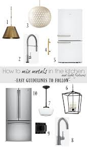 is it ok to mix stainless and white appliances how to mix metals in the kitchen and our kitchen faucet