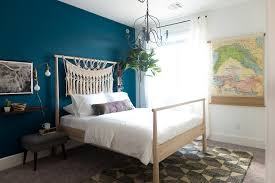 Sherwin Williams 2017 Colors Of The Year Amy U0027s Guest Room Overhaul Sherwin Williams 2018 Color Of The