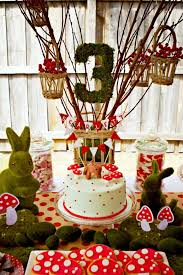 a woodland bambi inspired 3rd birthday party party ideas party