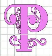 Cricut Craft Room Software - creating a split letter monogram using cricut craft room cricut