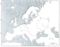Blank Eurasia Map by History 464 Europe Since 1914 Unlv