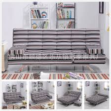 Multifunctional Bed Fabric Sofa Bed Washable Cloth Lazy Multifunction Folding Sofa Bed