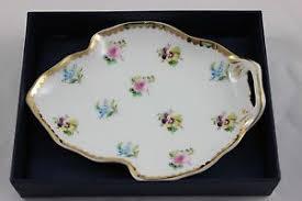 i godinger co rosebud i godinger co china floral dish rosebud leaf tray dish ebay