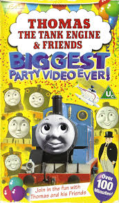 thomas tank engine friends biggest party video